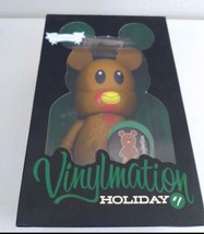 "Disney Vinylmation #1 Holiday Mickey Thanksgiving Turkey LE 400 9"" large - $148.49"