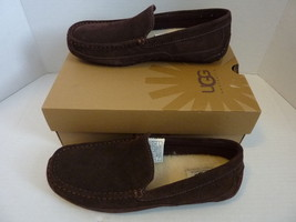NEW UGG Men's M ALDER Wool Slip on Slipper 1003419 Mens Size 8 US 40.5 E... - $90.22 CAD