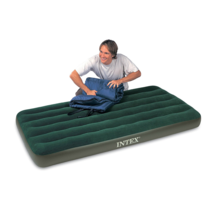 Intex - 66967E - Prestige Downy Airbed Kit with Hand Held Battery Pump, ... - $34.60