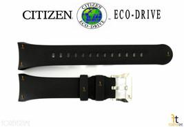 Citizen Eco-Drive J250-S092183 Original Black Rubber Watch Band Strap S092191 - $84.95