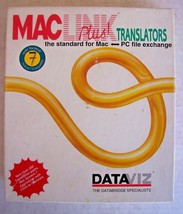 Mac Link Plus Translators PC File Exchange Floppy Disk Software + Manual Dataviz - $23.79
