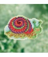 Snail 2017 Seasonal Seasonal Bouquet cross stitch kit Mill Hill - $7.20