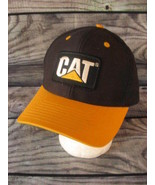 Caterpillar Equipment Snapback Adjustable Unisex Black Yellow Hat Cap - $12.86