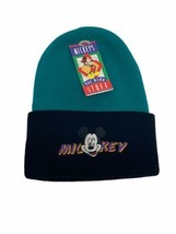 Disney Mickey's Stuff For Kids Mickey Mouse Beanie Hat Toboggan Vintage USA Made - $25.73
