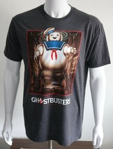 Ghostbusters Men's Graphic Tee Dark Gray T-Shirt Size L Cotton Blend - $21.23
