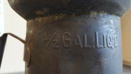 Oiler Oil Spout Can Craft Halloween 1/2 Gal Liquid Tin Minn 61 Vintage Steampunk image 9