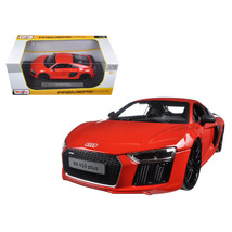 Audi R8 V10 Plus Orange 1/18 Diecast Model Car by Maisto 36213OR - $51.01