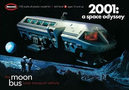Moebius Models, 1/55, 2001 A Space Odyssey Moon Bus, #2001-1 - $30.69