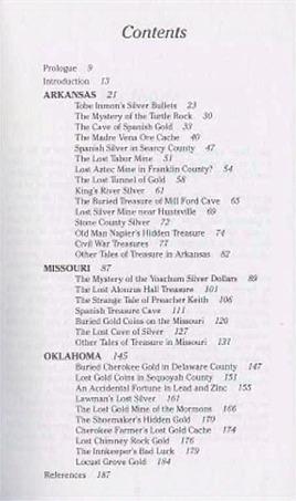 Buried Treasures of the Ozarks ~ Lost & Buried Treasure