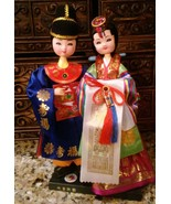 Authentic Korean dolls, purchased in Seoul South Korea (Capital) 11 inch - $21.78
