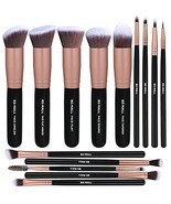 BS-MALL Makeup Brushes Premium Synthetic Foundation Powder (Rose Gold) - $14.71