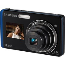 "Samsung TL220 12.2MP Digital Camera 4.6X Optical Zoom 3"" LCD Touch Screen - $123.49"