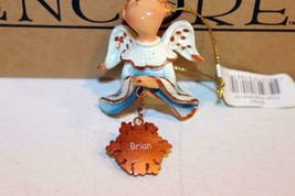 "Christmas Ornaments - WHOLESALE- Russ BERRIE-#6141 - 3 ANGELS- ""BRIAN""- New - $5.83"