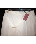 "NWT Womens Missoni Slacks 8 Pants 44 Cream Tall 35"" Designer Italy New B... - $660.00"