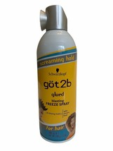 1 Schwarzkopf Got2b Glued Blasting Freeze Spray Screaming Hold spike 12 oz - $12.86