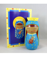 Shining Light Doll Our Lady of Czestochowa Collectible Vinyl Story Praye... - $16.64