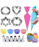 Cake Decorating Supplies Kits for Beginners with Baking Cups Pastry Pipi... - $64.99