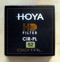52mm Hoya HD CIR-PL XHD52CRPL Filter CIRCULAR POLARIZER - $32.67