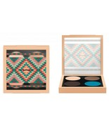 MAC Vibe Tribe WILD HORSES Eye Shadow Quad Brule Charcoal Brown Blue Mes... - $23.03