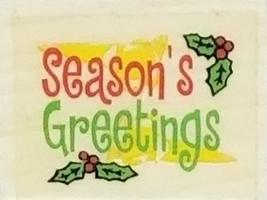 Christmas Rubber Stamps, Set of 3 image 5