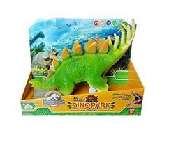 Think Toys Dino Park Sound Dinosaur Stegosaurus Soft Figure Toy