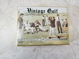 Double Bridge Deck Piatnik Austria Vintage Golf Playing Cards - $15.95