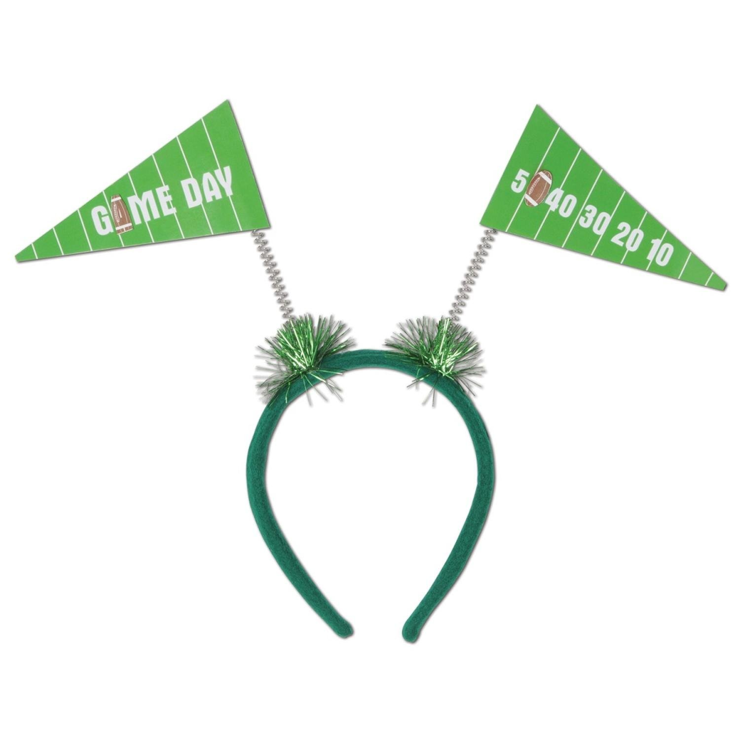Club Pack of 12 Game Day Pennant Flag Football Boppers Party Favors