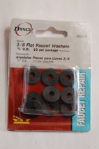 "Danco 88574 3/8"" flat faucet washers 10 per  package    inv 39 - $4.99"