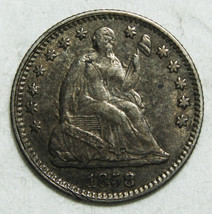 1858 Silver Seated Half Dime 5¢ Coin Lot# C-39