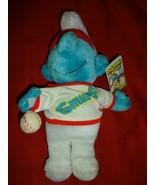 SMURF Baseball plush toy - $7.00