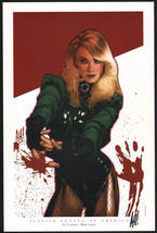 Adam Hughes SIGNED Women of the DC Universe Portfolio Art Print Black Ca... - $49.49