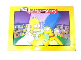 The Simpsons Battle Of The Sexes Collectible Board Game 2003 New Sealed ... - $26.17
