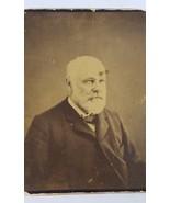 Antique Black White Photo Distinguished Man Unknown Subject Vintage Phot... - $44.55