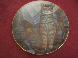 Flew The Coop Orange Tabby Collector Plate Lowell Davis Schmid Rare Cat Tales - $39.20