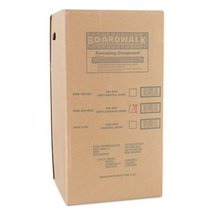 BWK4065 - Wax Base Sweeping Compound, Granular, 50 Lb Box - $55.50