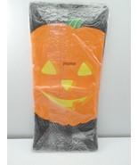 "Buzza Gibson Decorative Tablecover Paper Halloween Pumpkins 54""x96"" NOS ... - $15.99"