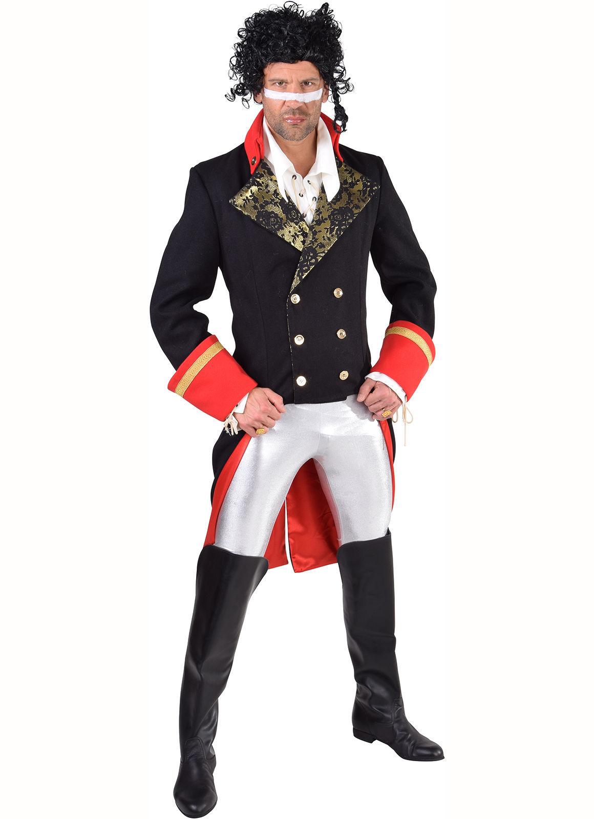 80's Deluxe Adam Ant Costume / New Romantic / Pirate  , XS - XXL