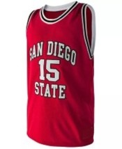 Kawhi Leonard #15 College Basketball Custom Jersey Sewn Red Any Size image 1