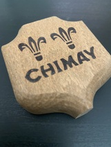 NEW - Vintage Chimay Peres Trappistes Bottle Opener - Etched Wood - $6.95