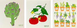Wet-It! Swedish Treasures Dishcloth & Cleaning Cloth - Set of 3 - Gardening - $19.95