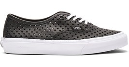 Vans AUTHENTIC SLIM PERF STARS BLACK Skate Shoes MENS 5.5 WOMENS 7 CLASSICS NIB