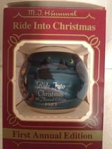 Vintage M.J. Hummel Ride Into Christmas Ornament In original box  - $10.40