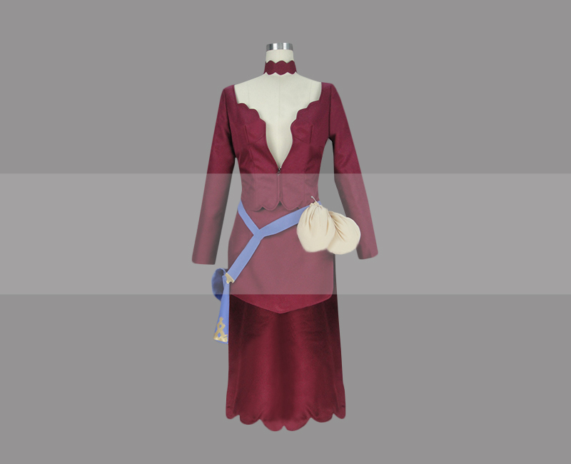 Customize Black Clover Vanessa Enoteca Cosplay Costume for Sale