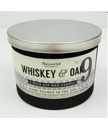 Vineyard Hill Naturals Whiskey & Oak No. 9 Jar Candle Soy Wax 3-Wick 12 oz - $44.55