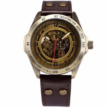Luxury Vintage Retro Automatic Mechanical Watch- Automatics Self-Wind- A... - $35.18