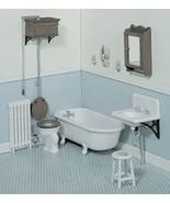 CHRYSNBON DOLLHOUSE MINIATURES VICTORIAN BATHROOM KIT #CB2111 - $19.80