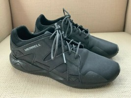 Merrell 1SIX8 Black Sneakers Athletic Shoes US Mens 7 EUR 40 - $27.73