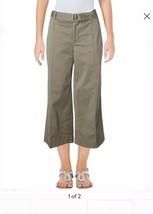 RALPH LAUREN  Green Cropped Wide Leg Pants 12NWT Retail 115$ - $68.31