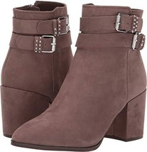 STEVEN by Steve Madden Women's PEARLE Fashion Boot Taupe Nubuck 10 M US - $42.95