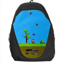 backpack duck hunt retro geek pixel nerd 8 bit dos gamer shooter disk floppy - $39.79
